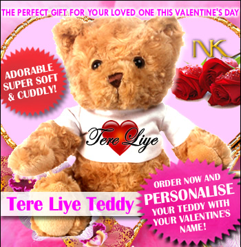 #product tere liye teddy valentine